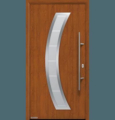 Porte Maison Bois Moderne pour appartement, disponible pour promoteur à Nice et 06