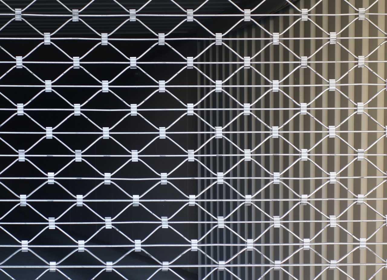 grille articulée pour entreprise et magasin