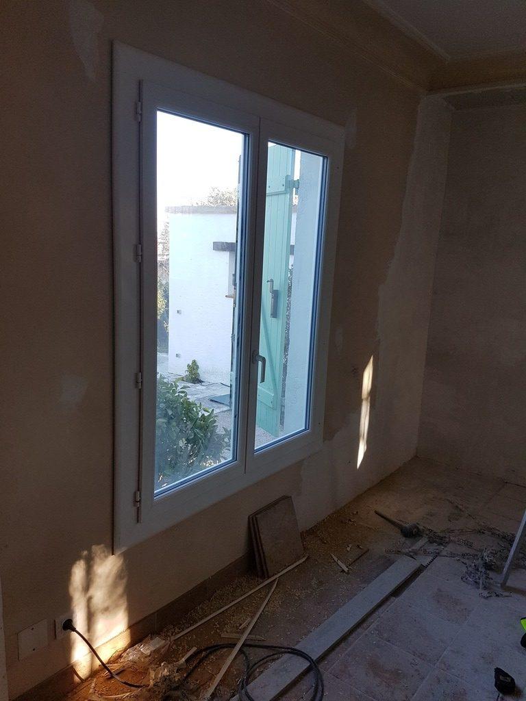 Fenetre Pvc installation villa Nice